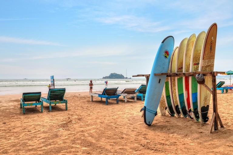 Weligama Beach, Mirissa, Sri Lanka, Asia