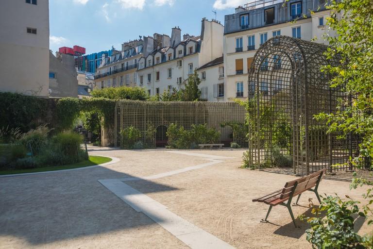 Paris, Jardin Anne Frank