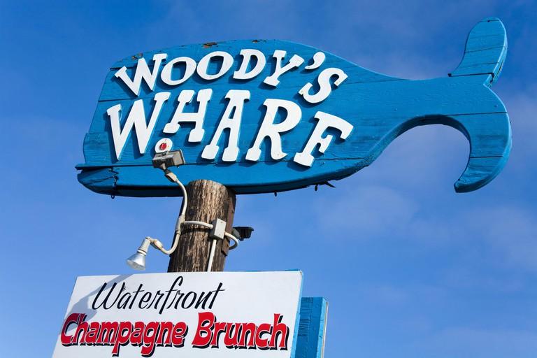 Woody's Wharf,City of Newport Beach,Orange County, California, USA