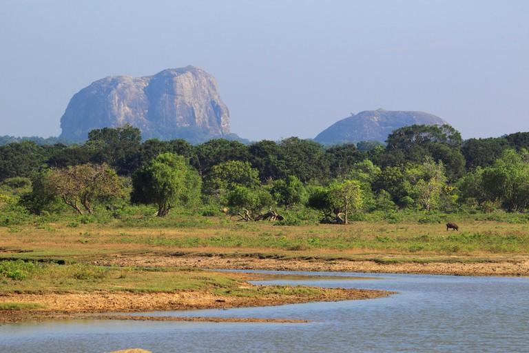 Elephant Rock at Yala National Park, Sri Lanka, Yala National Park