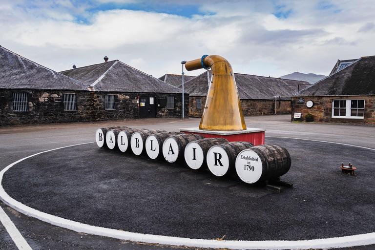 Balblair Distillery, Distillery, Distillery, Whiskey, Edderton, Scotland, United Kingdom, Europe