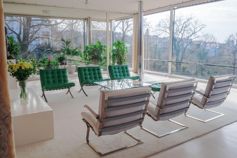 Villa Tugendhat in Brno, Czech Republic, Architect Mies van Der Rohe for the tugendhat family, Modern architecture, Funcionalism architecture,Unesco,