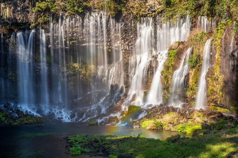 Shiraito Falls and Rainbow, Nagano, Japan 2BK8D3F