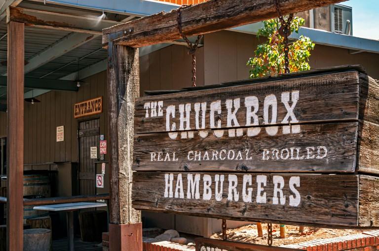 The Chuckbox Hamburgers in downtown Tempe, Arizona