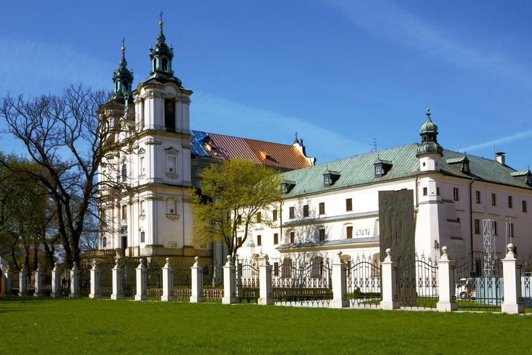 Poland, Krakow, On The Rock Church.