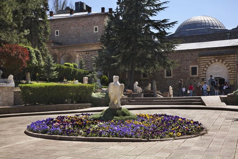 Museum of Anatolian Civilizations in Ankara. Turkey