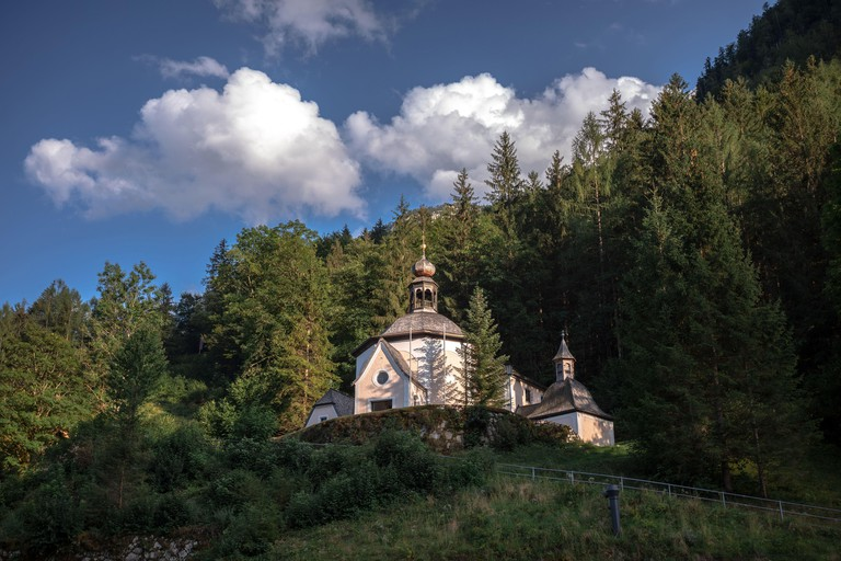 Kalvarienbergkirche - Calvary Church in Hallstatt, Austria