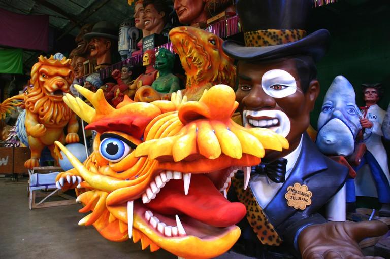 Mardi Gras World, New Orleans. Image shot 2006. Exact date unknown.