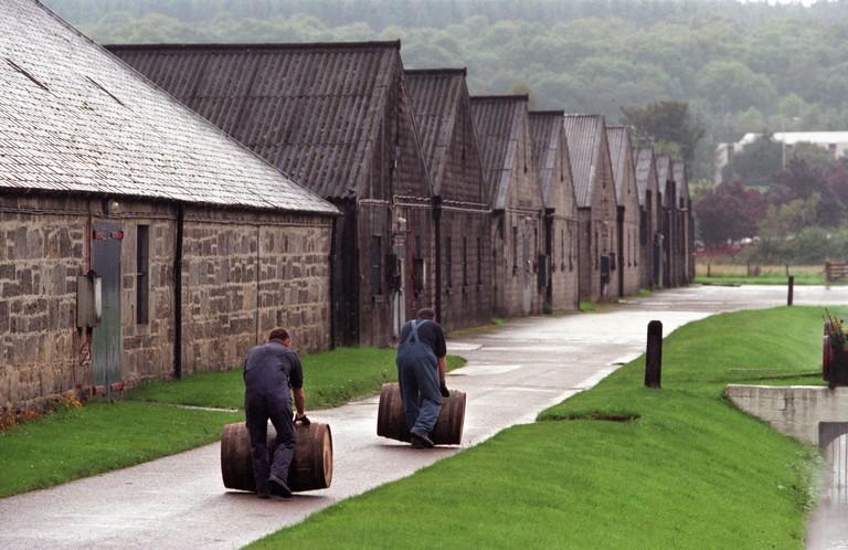 Glen Moray Distillery Speyside Scotland