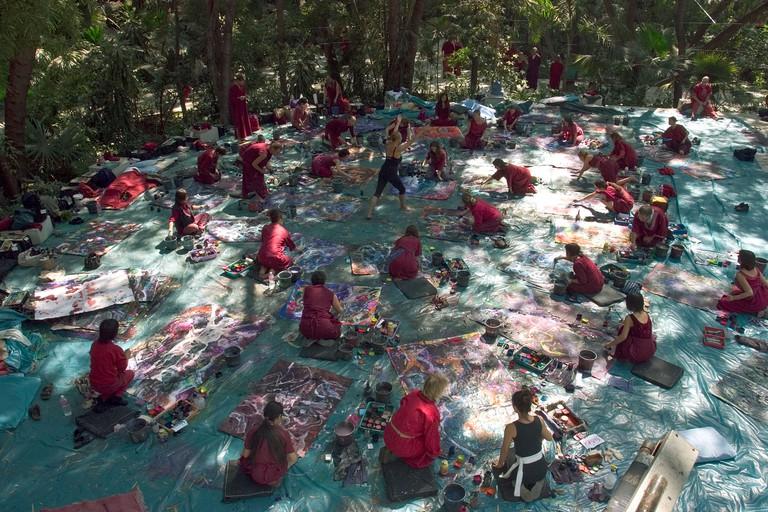 painting class osho resort