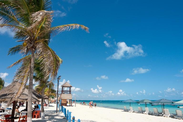 Playa Tortugas beach, Cancun, Yucatan Peninsula, Mexico. Image shot 11/2008. Exact date unknown.