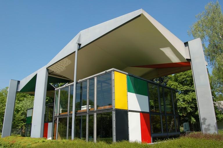 Heidi Weber Pavilion in Zurich, Switzerland(Le Corbusier 1965)