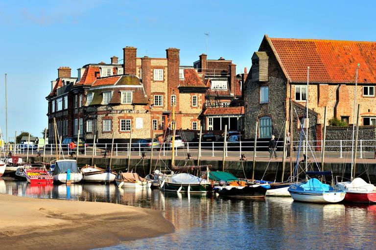 Blakeney Quay Norfolk UK