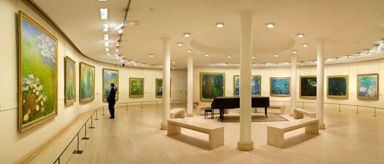 France, Paris, Musee Marmottan, Monet room