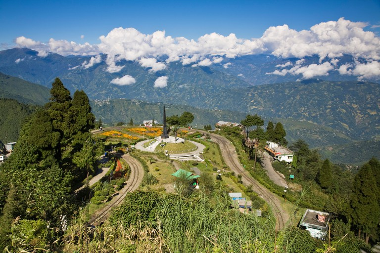 India, West Bengal, Darjeeling, Batasia Loop