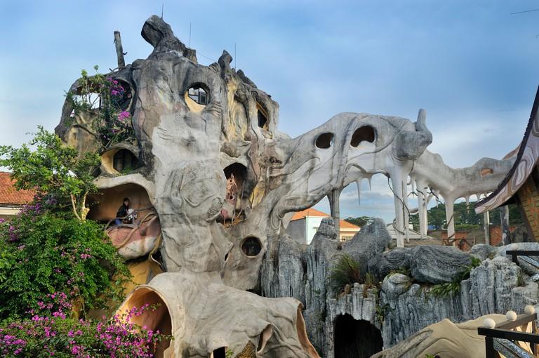 Crazy House Hotel, Hang Nga Guesthouse, Dalat, Central Highlands, Vietnam, Asia