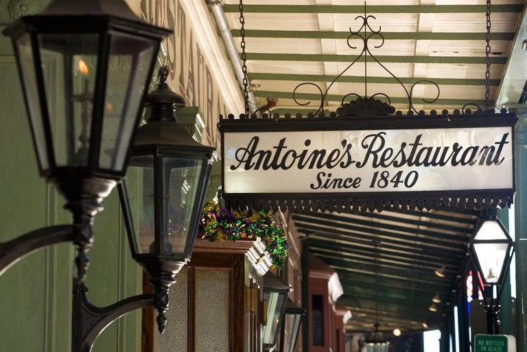 Antoine's Restaurant since 1840 New Orleans, Louisiana