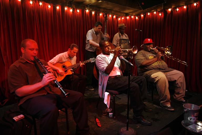 Palmetto Bug Stompers, d.b.a. Jazz Club, 618 Frenchman Street, New Orleans, Louisiana, USA