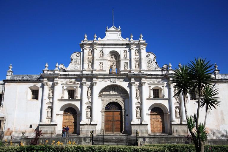 Catedral de Santiago (Santiago Cathedral), Antigua, UNESCO World Heritage Site, Guatemala, Central America