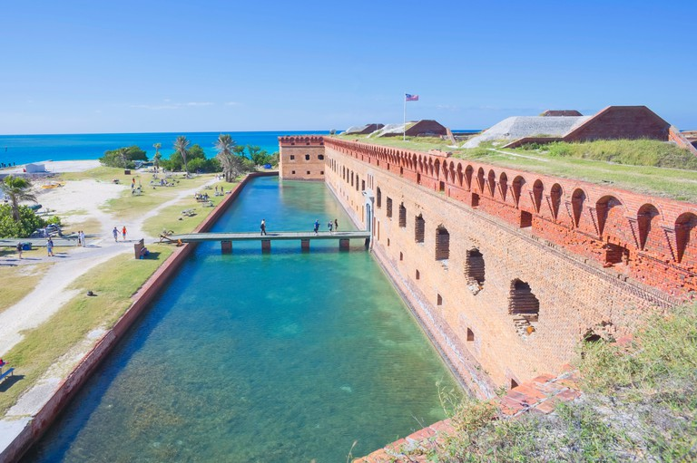 Fort Jefferson, Dry Tortugas National Park, Florida, USA
