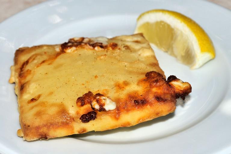 Saganaki (Pan-Seared Greek Cheese)