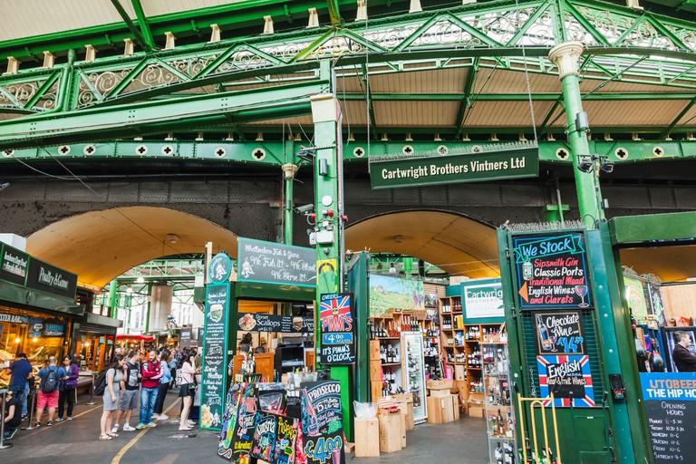 England, London, Southwark, Borough Market