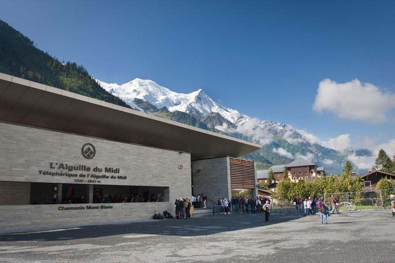Telepherique de l'Aiguille du Midi Station - Chamonix Mont-Blanc