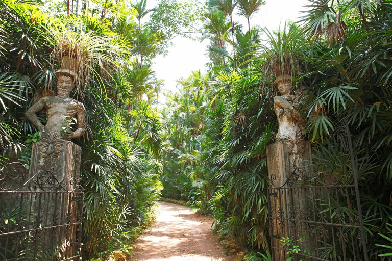 Statues at Brief Garden, Sri Lanka