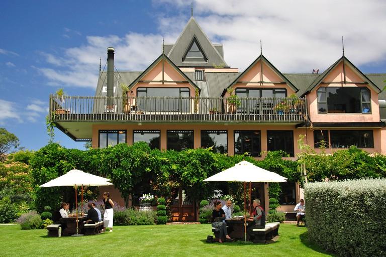 Pegasus Bay Winery and Restaurant, Waipara, North Canterbury, Canterbury Region, South Island, New Zealand. Image shot 2011. Exact date unknown.