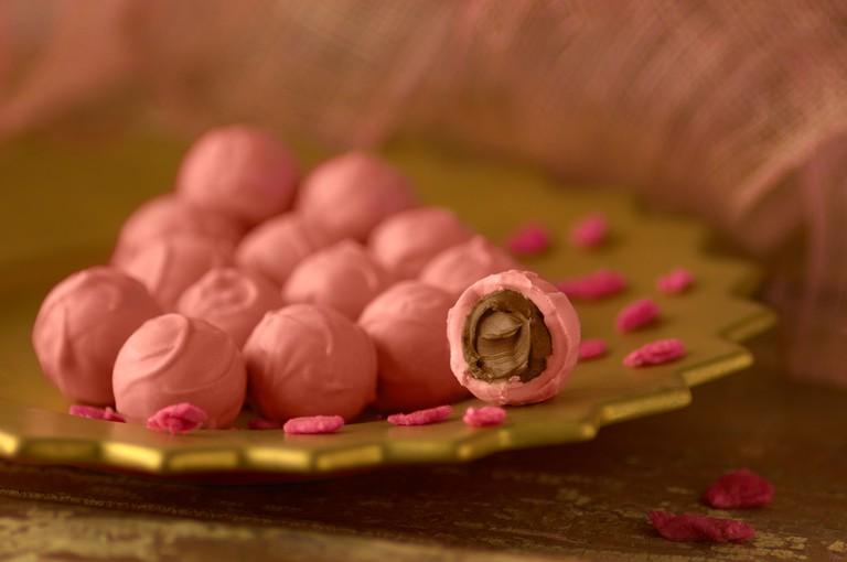 Pink Truffle Chocolates