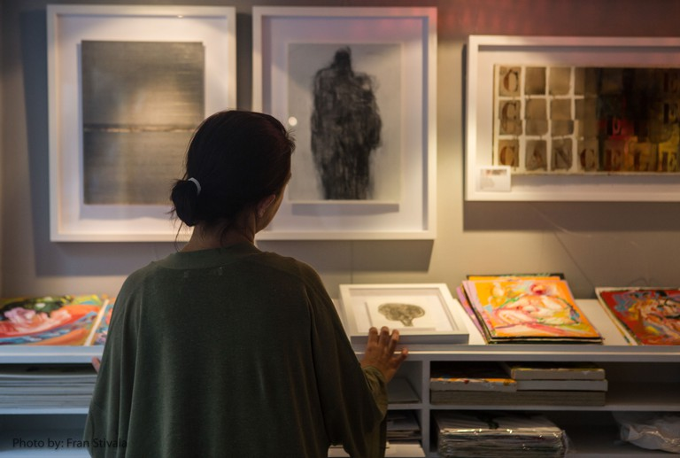PaperWorks Gallery at Christine X Art Gallery. Credit: Fran Stivala Photography