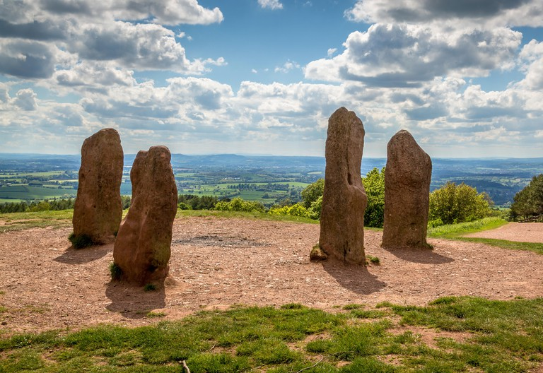 TR9MT2 Natural beauty of The Clent Hills, Worcestershire, England