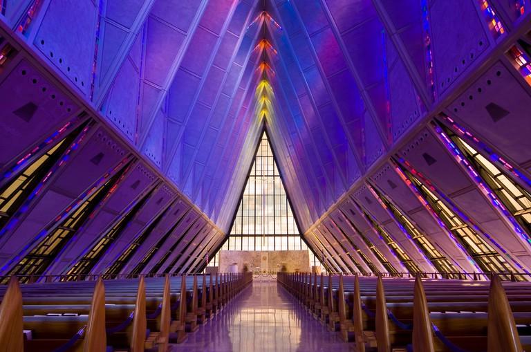 Protestant Chapel USAF Academy, Colorado Springs
