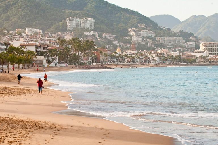 Puerto Vallarta beach, Puerto Vallarta, Jalisco, Mexico, North America