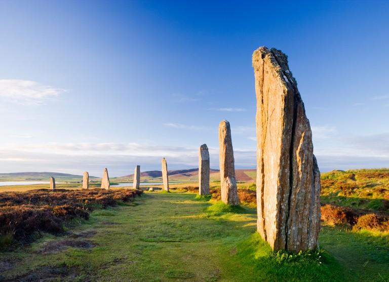 Ring of Brodgar, Orkney, Scotland, UK.