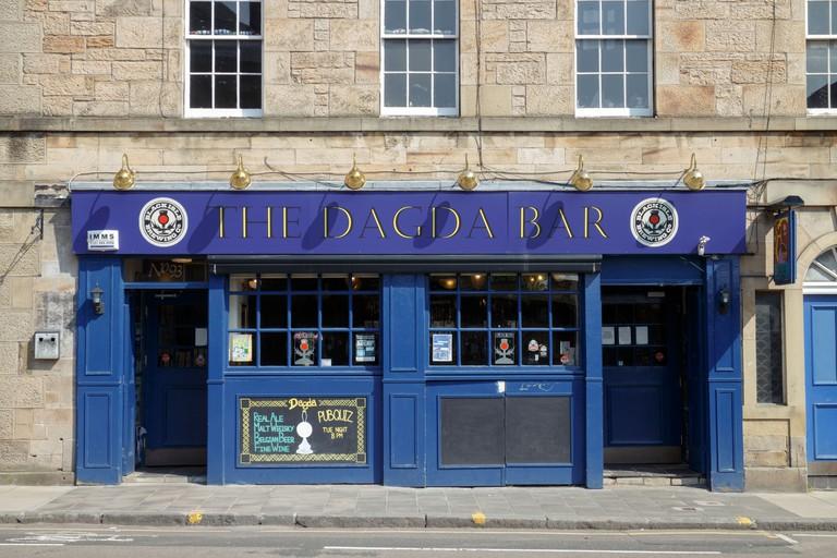 The Dagda Bar pub, Edinburgh