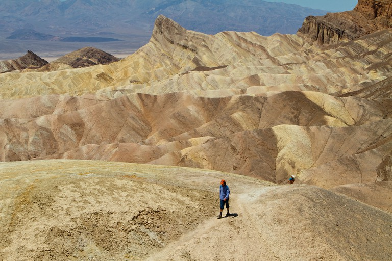 zabriskie point Death Valley National Park. named after Christian Brevoort Zabriskie of the Pacific Coast Borax Company