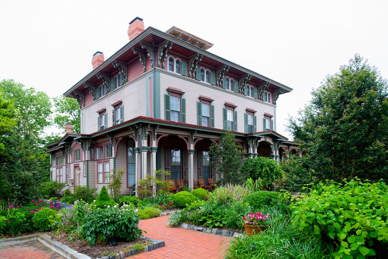 USA New Jersey NJ Cape May Southern Mansion B & B hotel old Victorian home now an inn