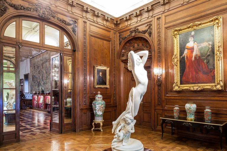 Argentina Buenos Aires Museo Nacional de Arte Decorativo National Museum of Decorative Arts in installed Errazuriz Alvear