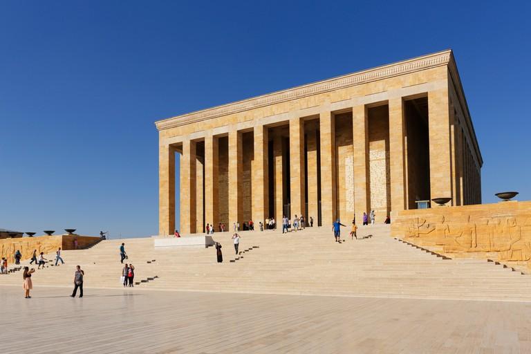 Ataturk Mausoleum, Anitkabir, Ankara, Central Anatolia Region, Anatolia, Turkey