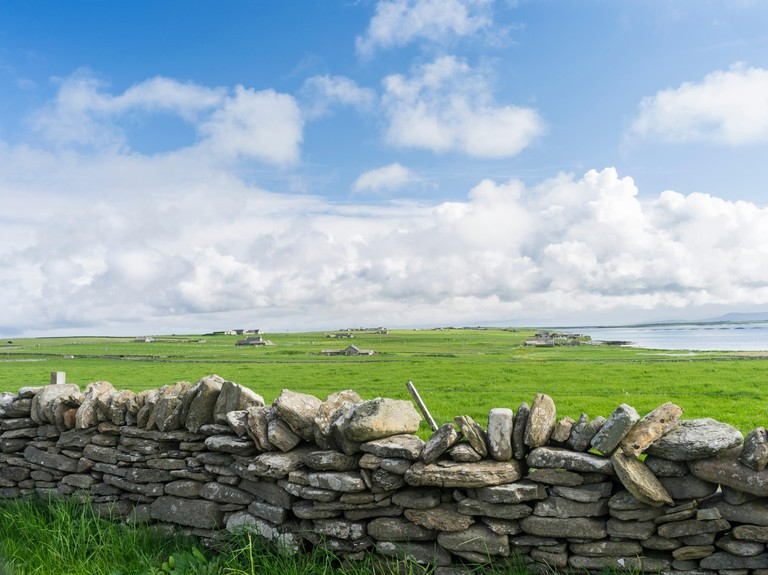 Papa Westray, a small island in the Orkney archipelago, Orkney islands, Scotland. (Large format sizes available)