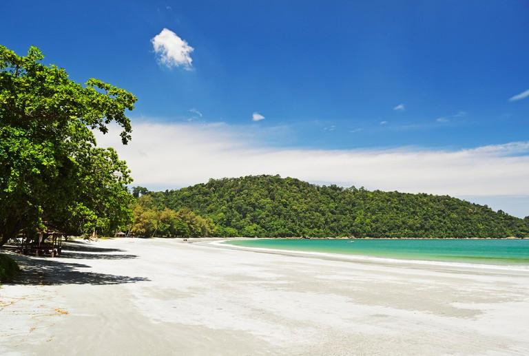 Teluk Belanga, Pulau Pangkor (Pangkor Island), Perak, Malaysia, Southeast Asia, Asia
