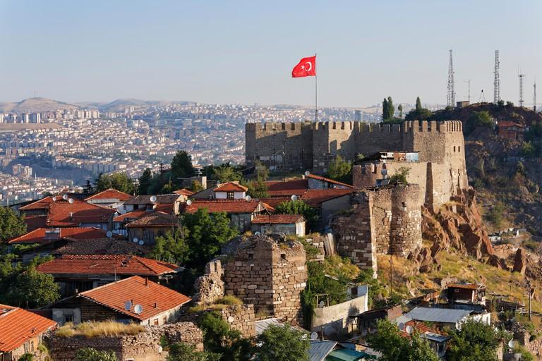 Ankara Kalesi Castle, Ankara, Central Anatolia Region, Anatolia, Turkey