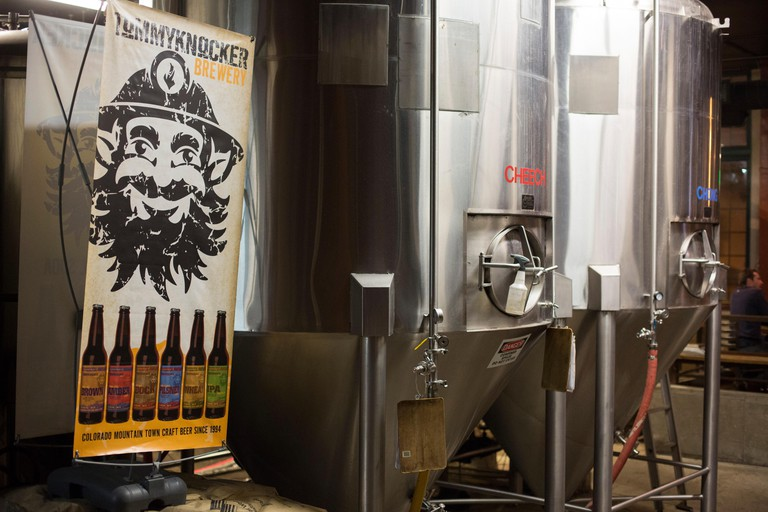 Idaho Springs, Colorado - The Tommyknocker craft brewery, the largest microbrewery in Colorado.