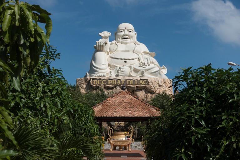 Buddha sculpture, amusement park, Vung Tau, Vietnam