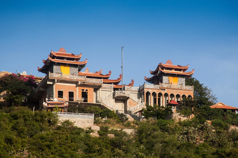 Thien Vien Truc Lam Pagoda, Phan Rang, Ninh Thuan, Vietnam
