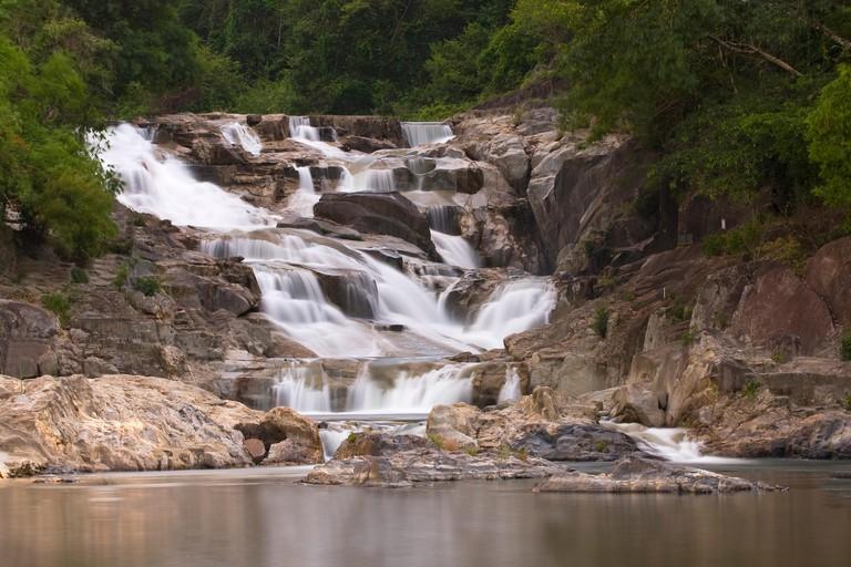 Ba Ho Waterfall, Nha Trang, Vietnam, Asia, South East Asia