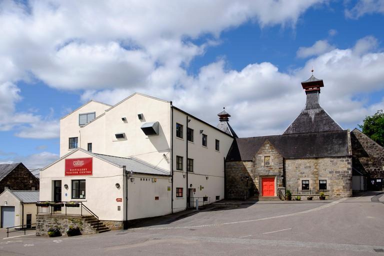 Cardhu whisky distillery on Speyside in Scotland United Kingdom