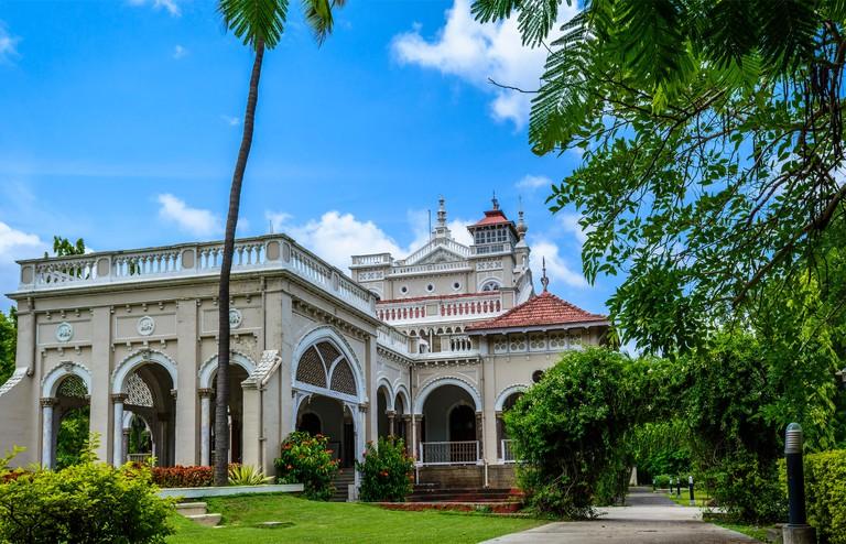Front view of Aga Khan Palace