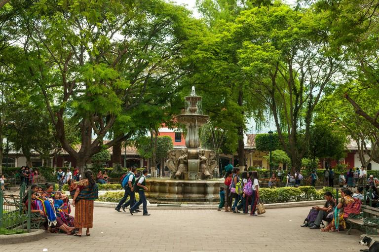 Parque Centrale, Antigua, Guatemala